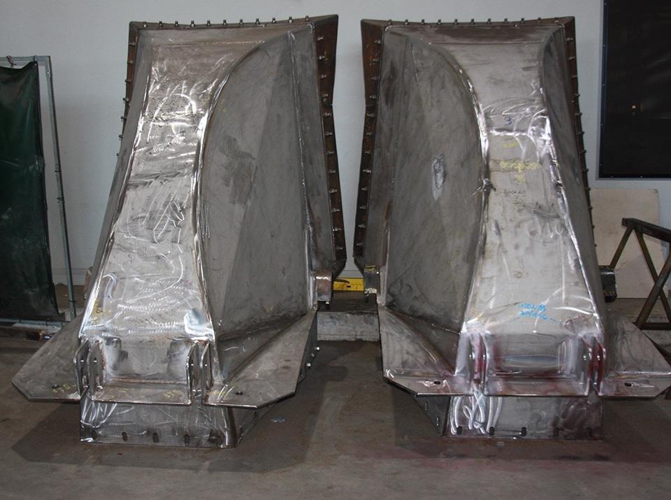 Civmec RC3 Reclaimer Buckets – Port Kembla Coal Terminal