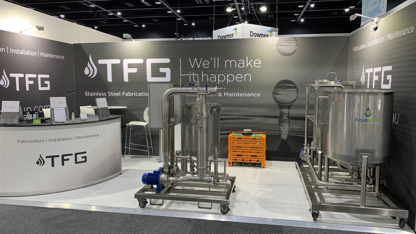 TFG Exhibits at Ozwater '21